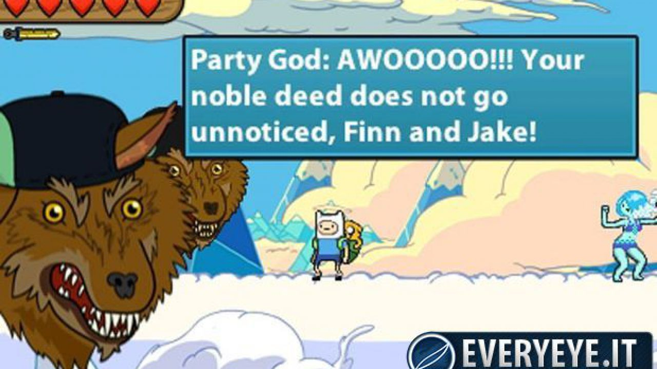 Video gameplay per Adventure Time: Hey Ice King! Why'd You Steal Our Garbage?!