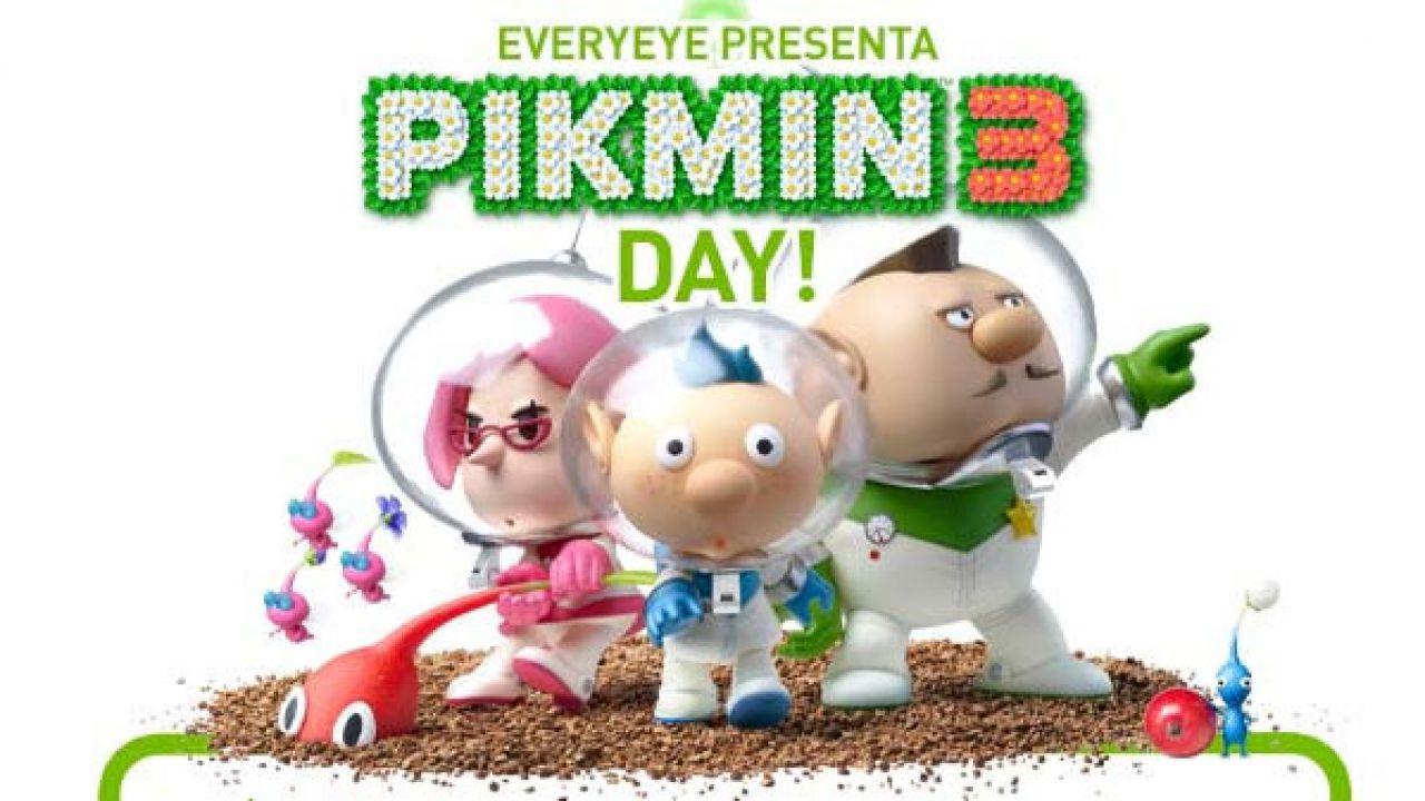 Video gameplay per Pikmin 3