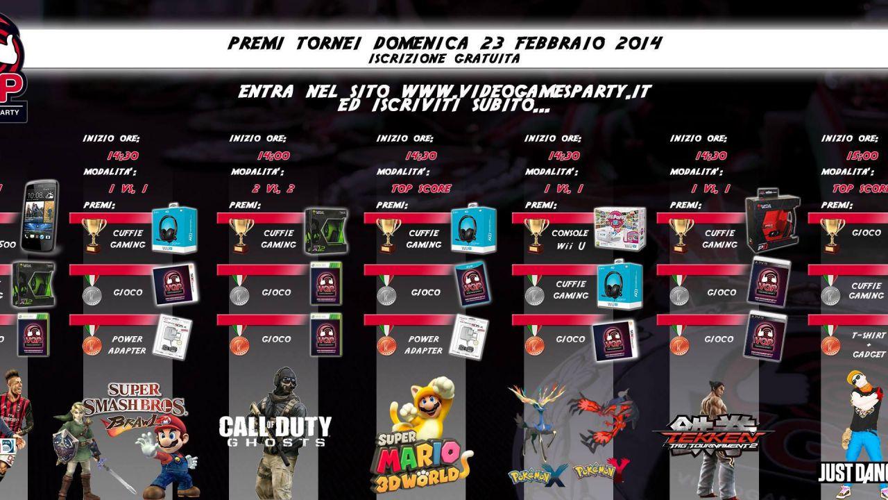 Videogames Party: tutti i dettagli sulla tappa di Faenza