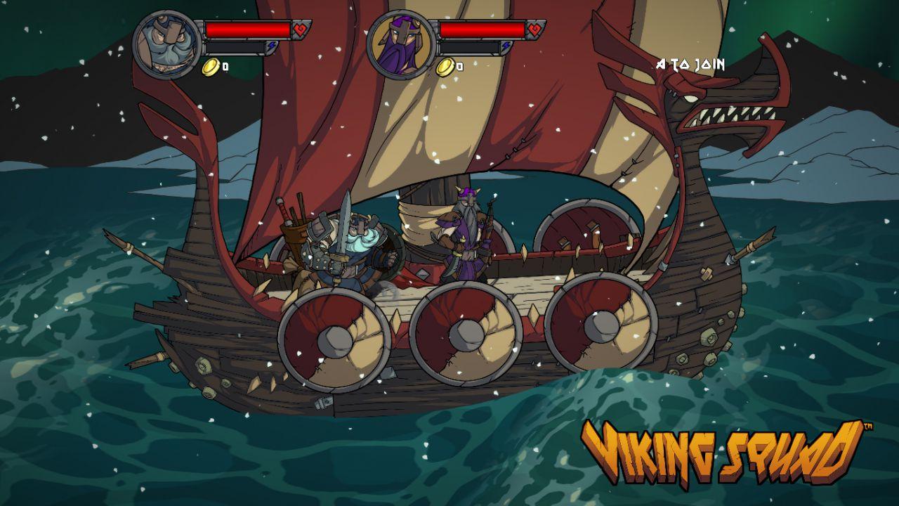 Viking Squad: disponibile dal 4 ottobre per PC e PlayStation 4