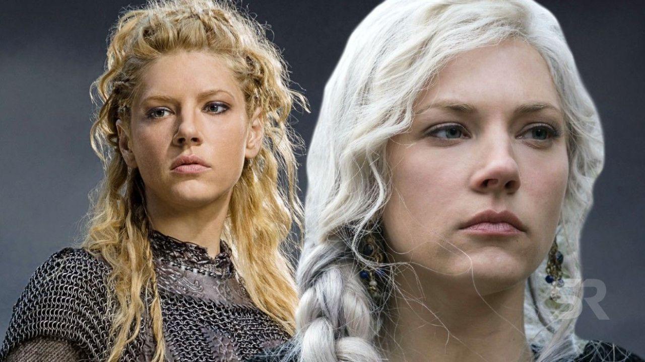 Vikings 6, perché i capelli di Lagertha diventano di colpo bianchi?
