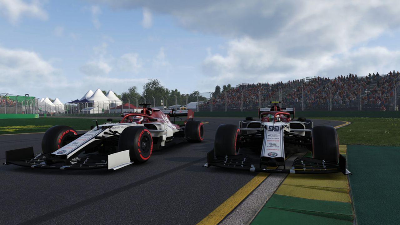 Virtual GP d'Australia: Antonio Giovinazzi nella Top 5 con Alfa Romeo Racing