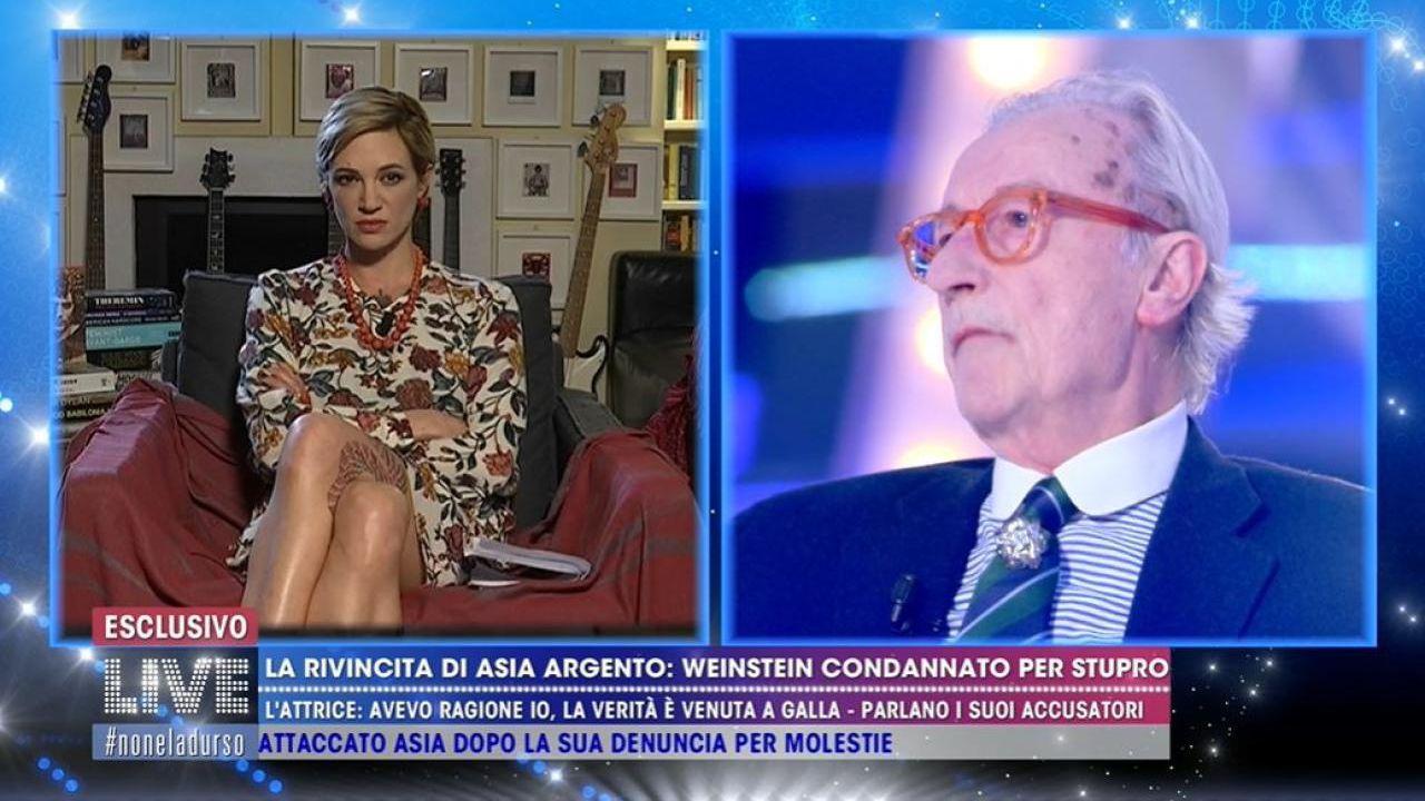 Vittorio Feltri contro Barbara D'Urso: 'il suo programma è un canile'