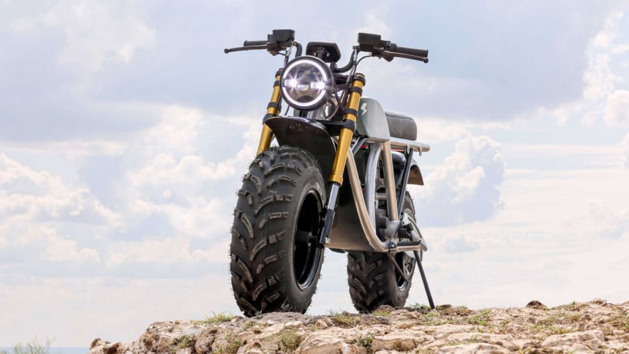 Volcon Grunt: la moto elettrica che va anche sott'acqua