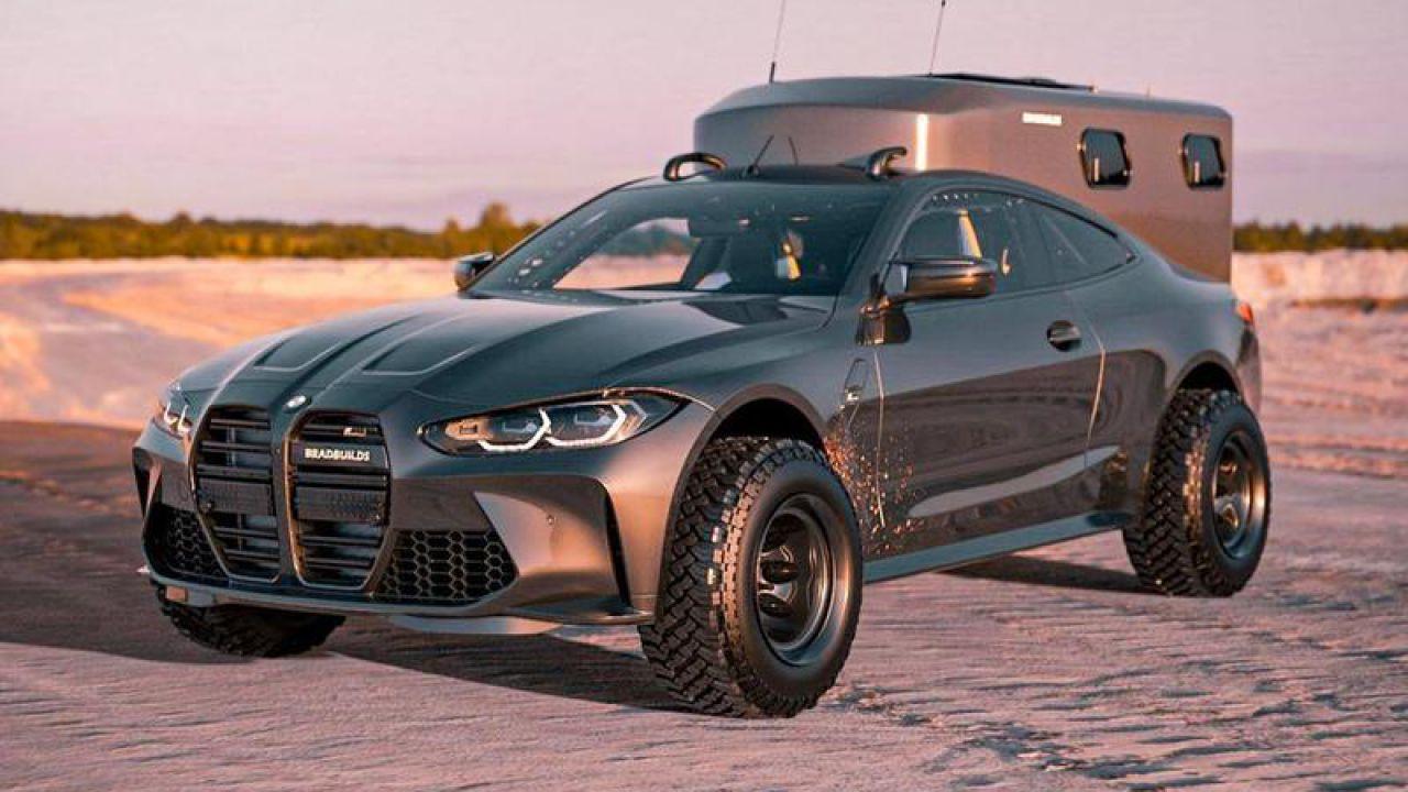 Volete un camper sotto forma di BMW M4? Qualcuno ci ha già pensato