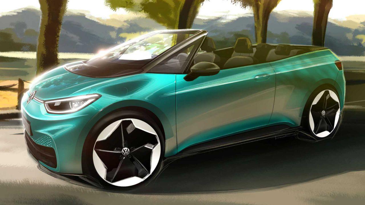 Volkswagen lancerà una ID.3 cabrio? Dipende dagli automobilisti