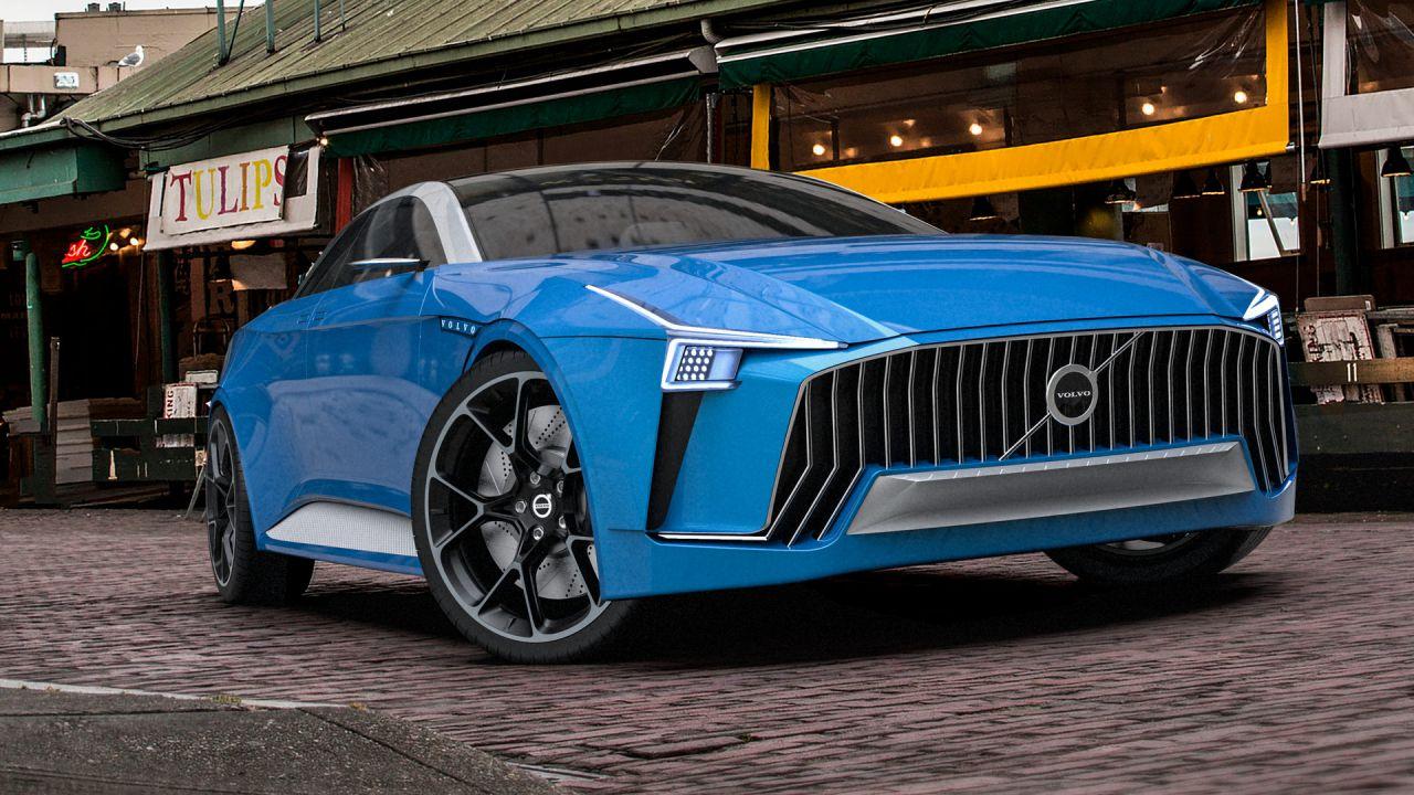Volvo Krigare: sarà questo il look delle elettriche svedesi?