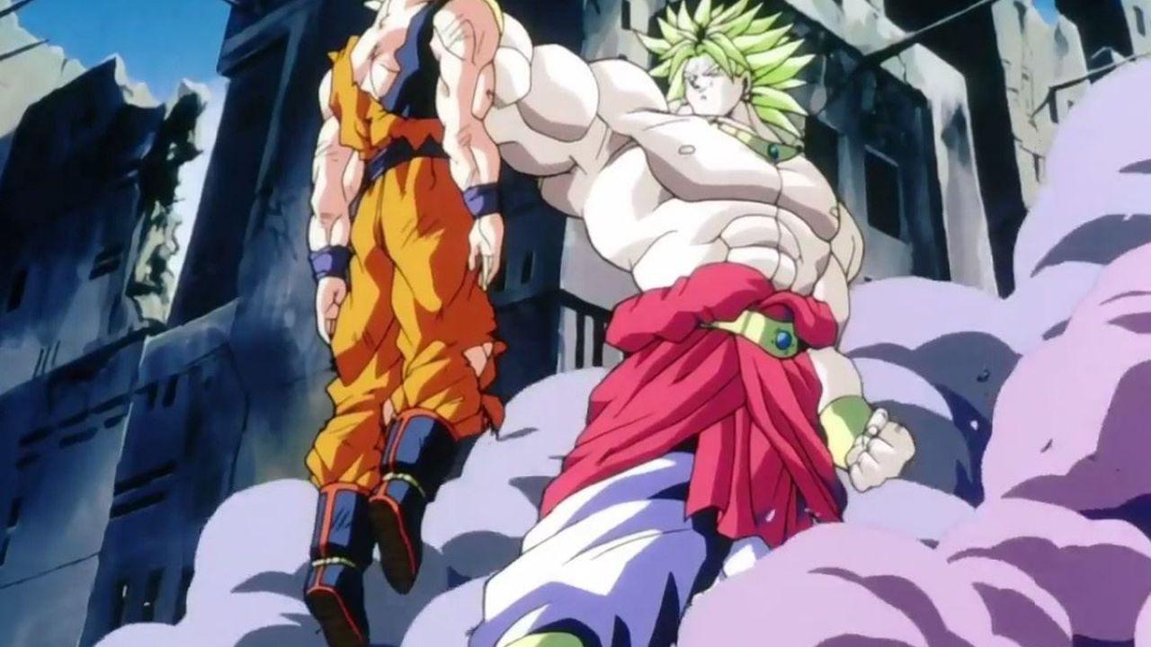 Vuoi rivivere il combattimento contro Broly dagli occhi di Goku? Ci pensa un'artista