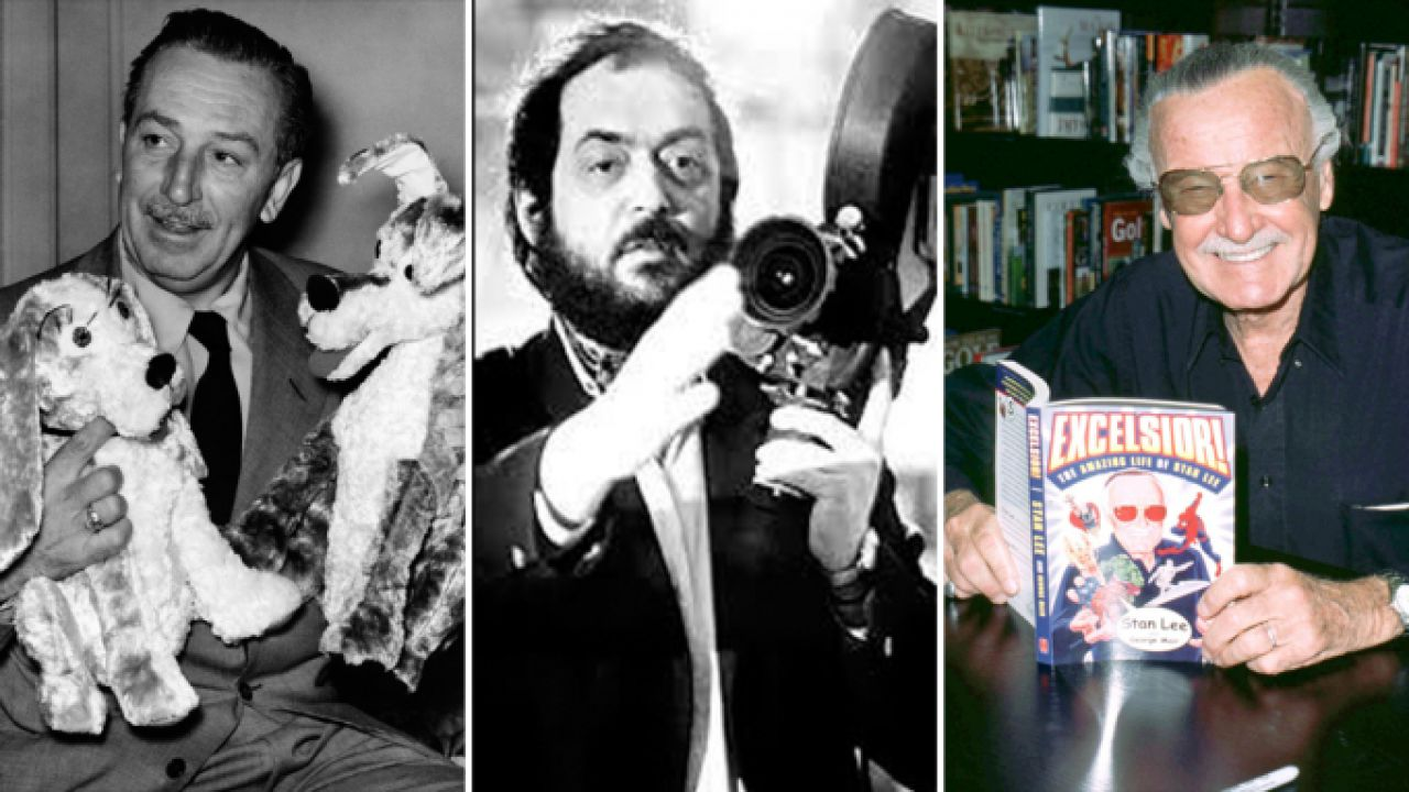 Walt Disney, Stanley Kubrick e Stan Lee nella Hall of Fame della Visual Effect Society