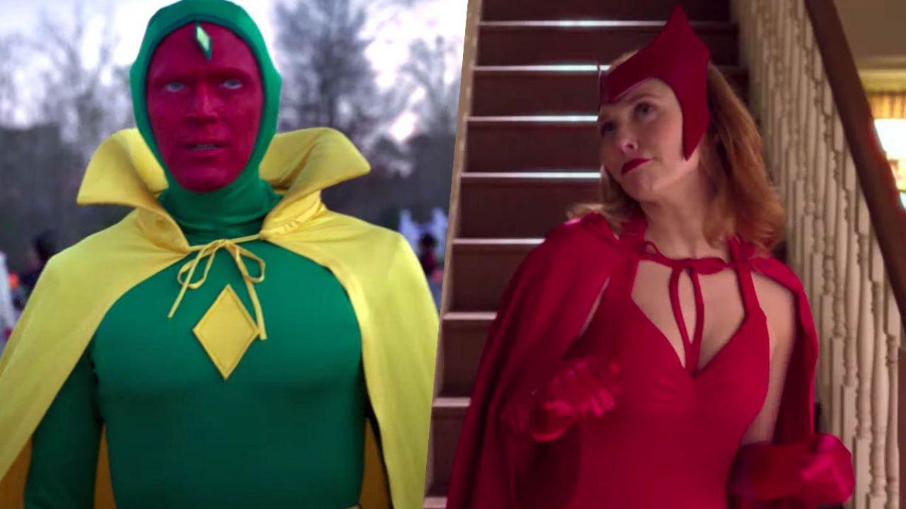 WandaVision: ecco 10 meme esilaranti su Scarlet Witch e Visione