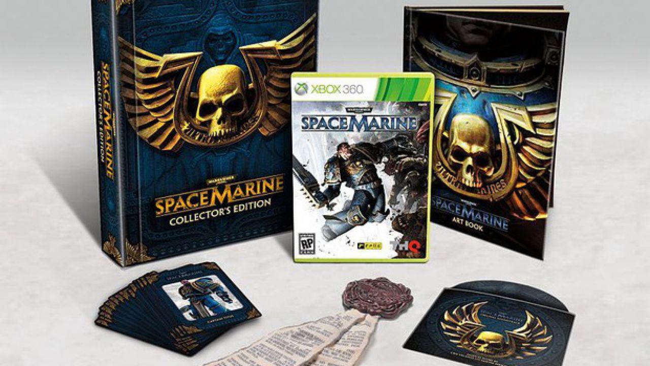 Warhammer 40.000 Space Marine: confermata la co-op via DLC gratuito, nuovi trailer dedicati alle armi