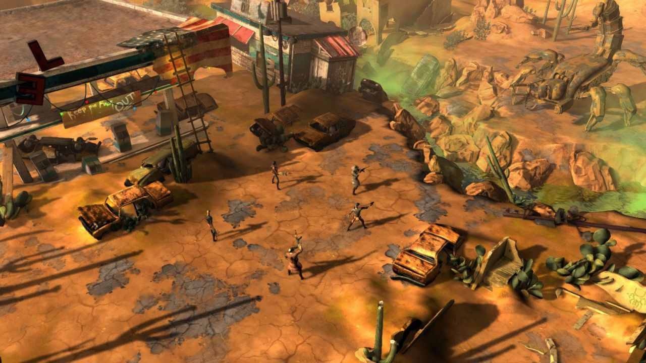 Wasteland 2 Director's Cut si mostra in nuove immagini