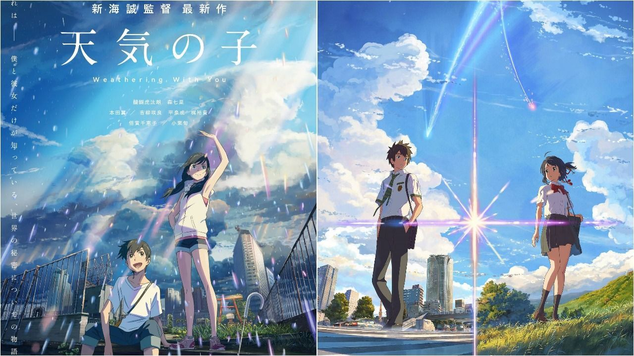 Weathering With You e Your Name tornano a dominare il box office giapponese, i numeri