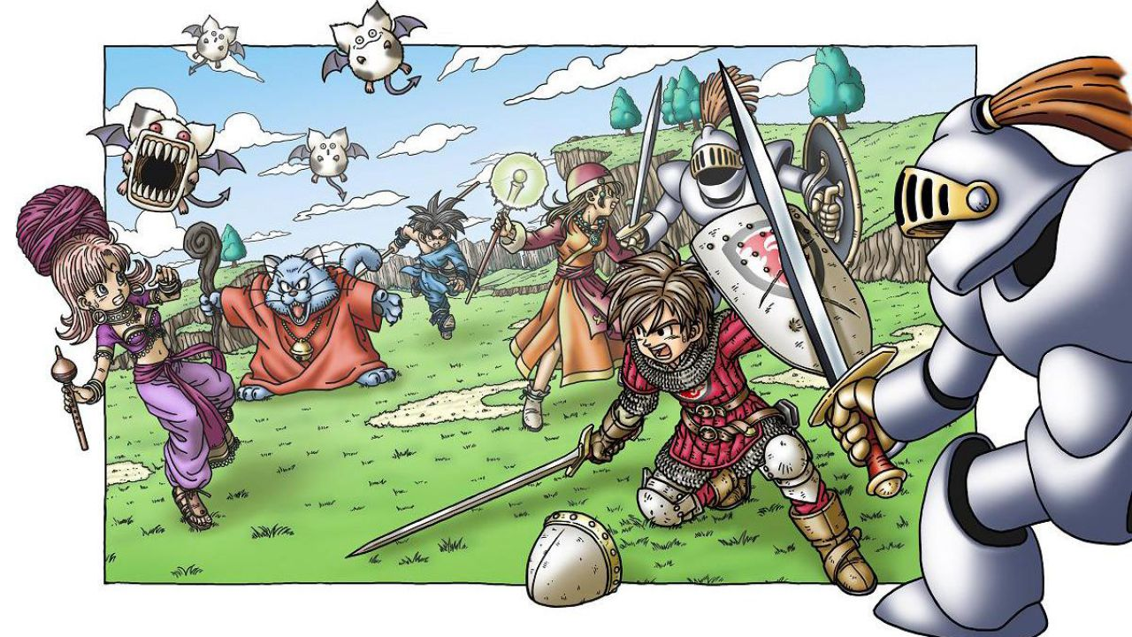 Weekly Shonen Jump ha in serbo sorprese per la serie Dragon Quest