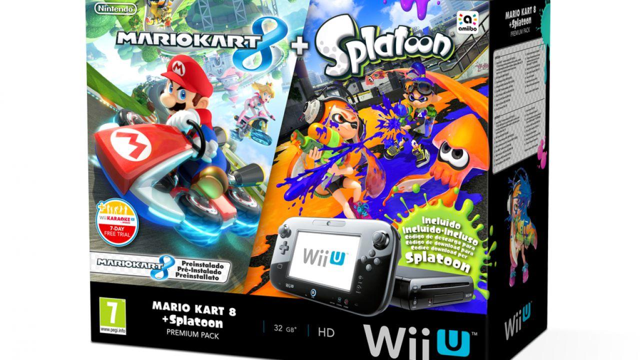 Wii U: in arrivo un nuovo bundle con Mario Kart 8 e Splatoon