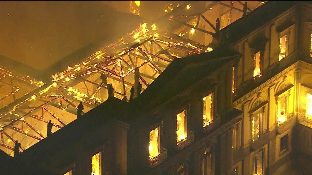 Wikipedia: una campagna per preservare i reperti persi nell'incendio del Museo di Rio