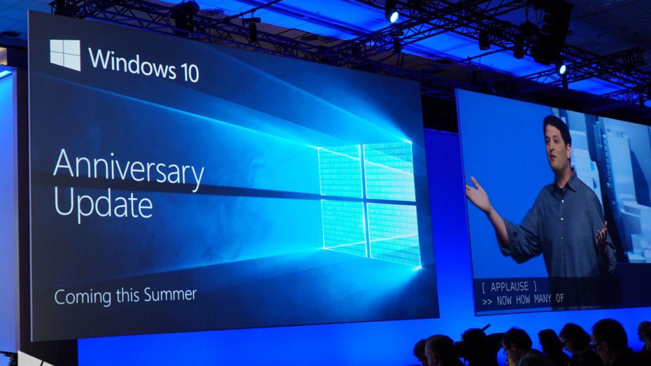 Windows 10 Anniversary Update: nuovi requisiti per le dimensioni dei display