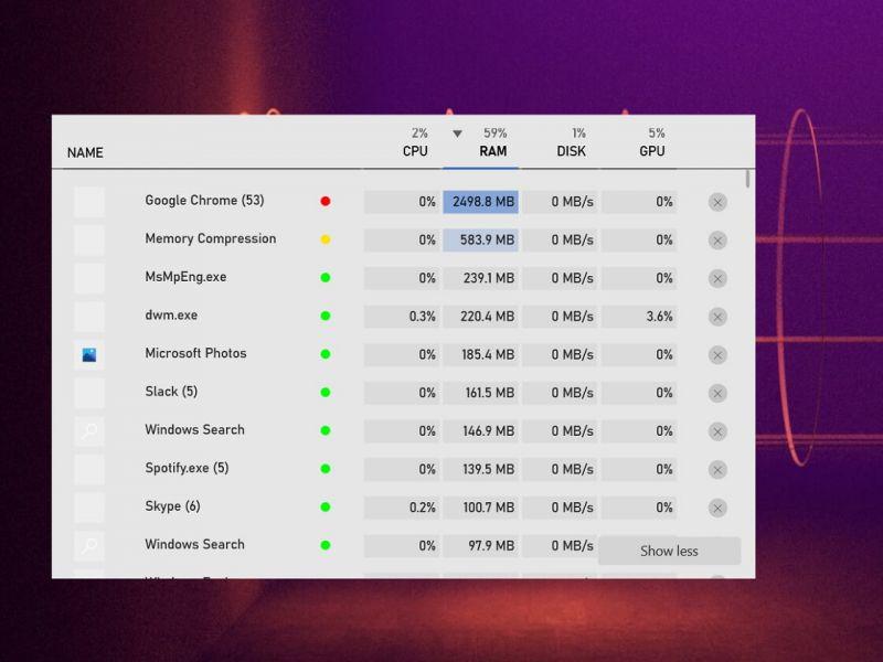 Windows 10, migliorato il Task Manager: sarà ottimo durante il gaming