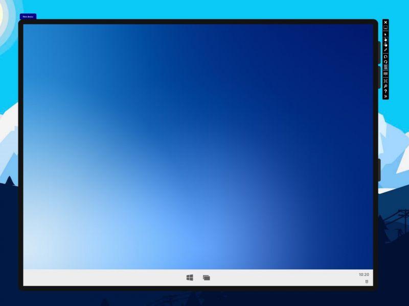 Windows 10X in arrivo anche su dispositivi a schermo singolo: c'è la prima immagine!