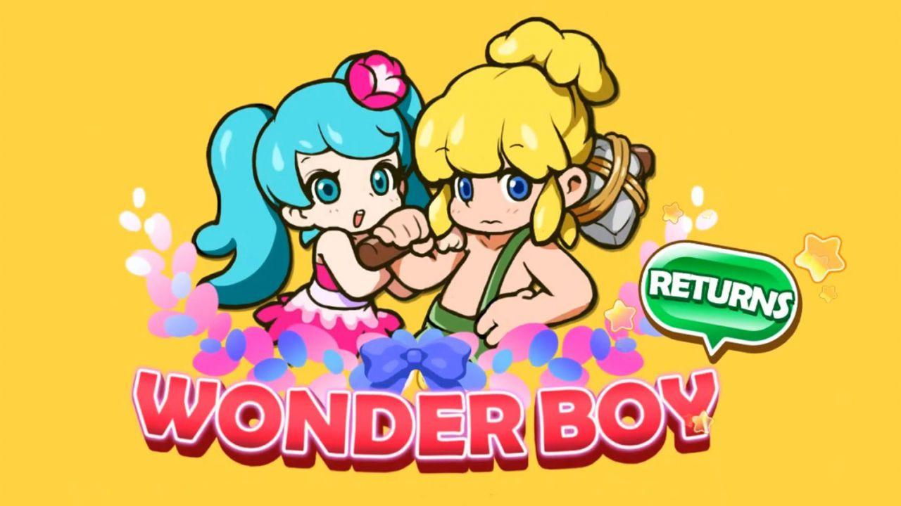 Wonder Boy Returns annunciato per PC e PlayStation 4