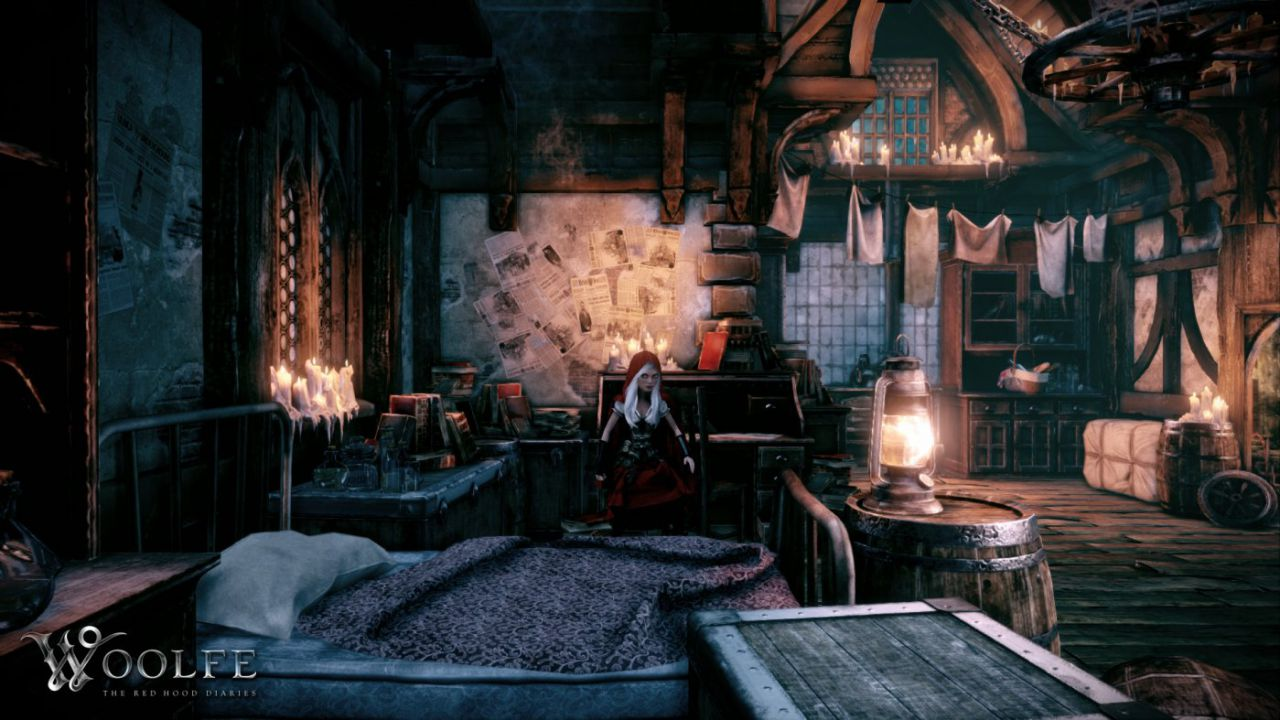 Woolfe: The Redhood Diaries è disponibile in Early Access su Steam