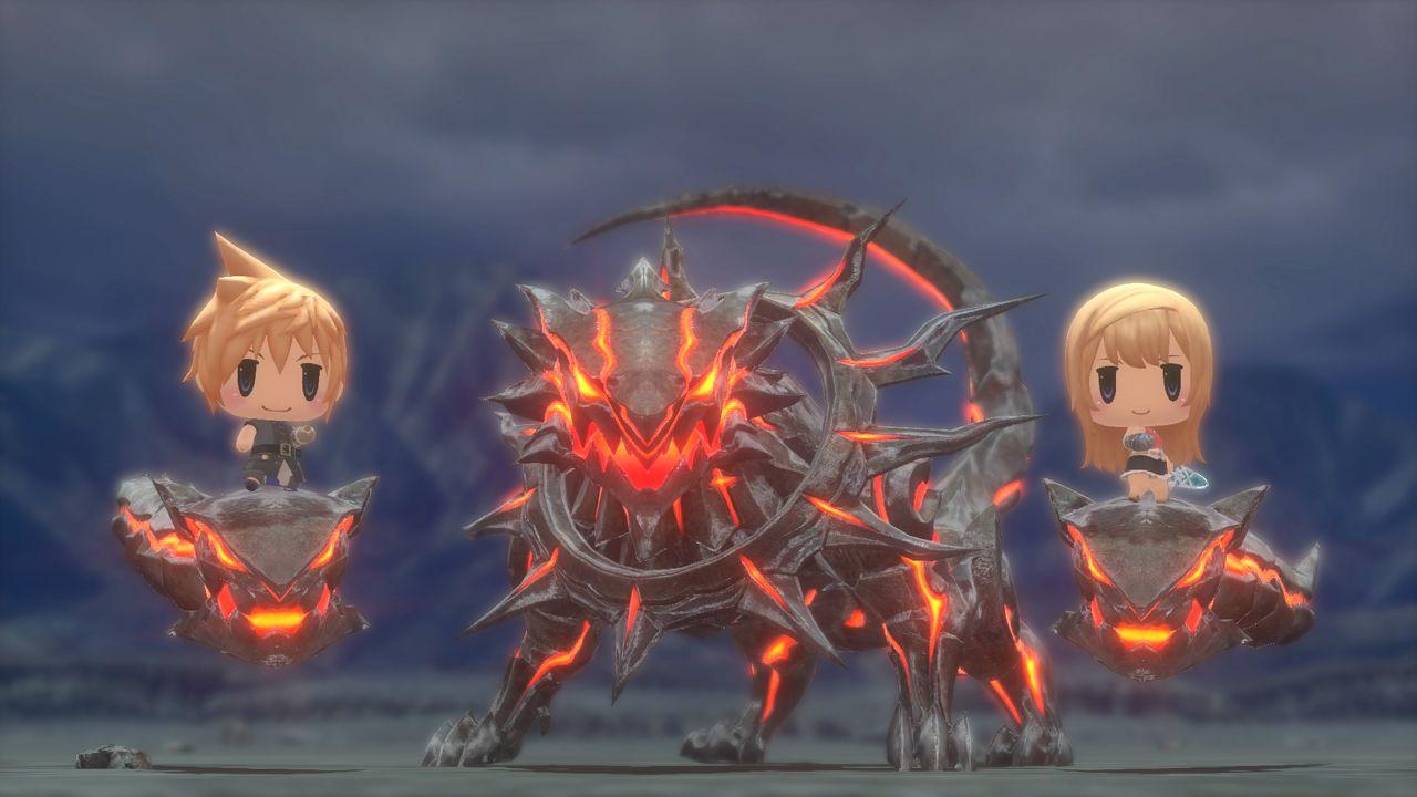 World of Final Fantasy: ecco una lunga serie di screenshot della versione PlayStation 4
