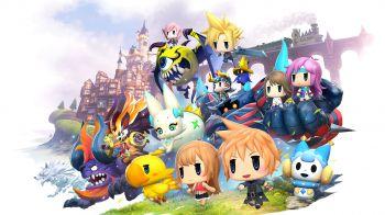 World of Final Fantasy: l'aeronave e la mappa si mostrano in video