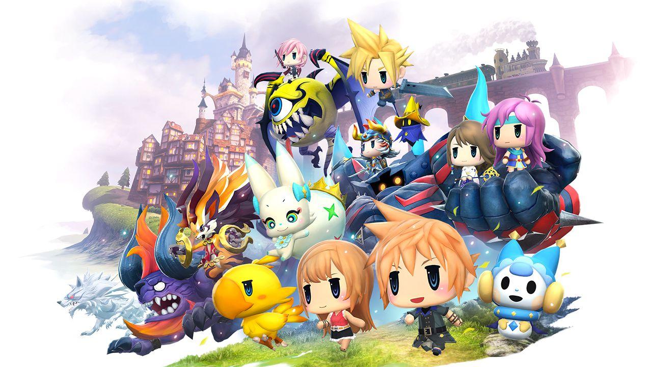 World of Final Fantasy: nuove immagini per Shantotto e per le Summon