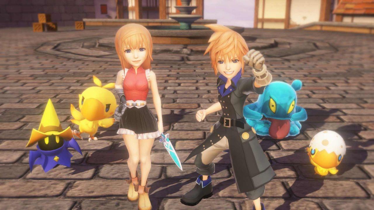 World of Final Fantasy: nuovi video gameplay presentano il doppiaggio inglese