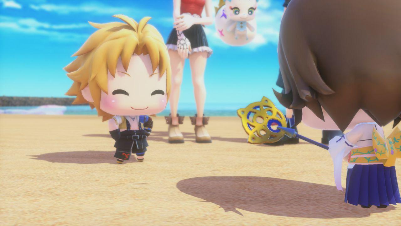 World of Final Fantasy si mostra in 10 minuti di gameplay