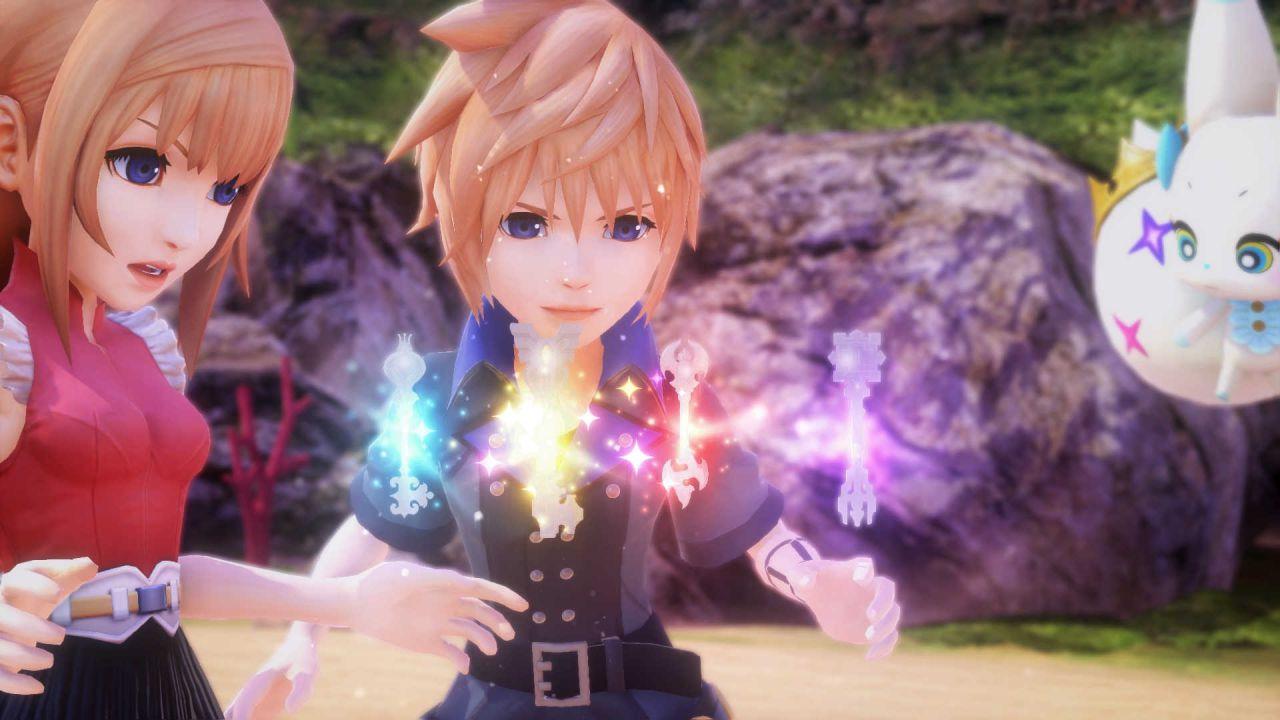 World of Final Fantasy si mostra in nuove immagini