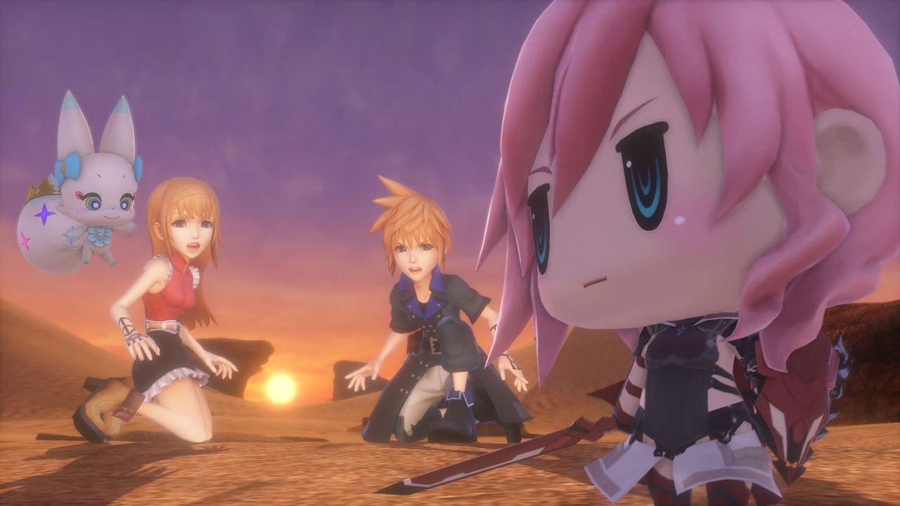 World of Final Fantasy uscirà a ottobre in Europa?