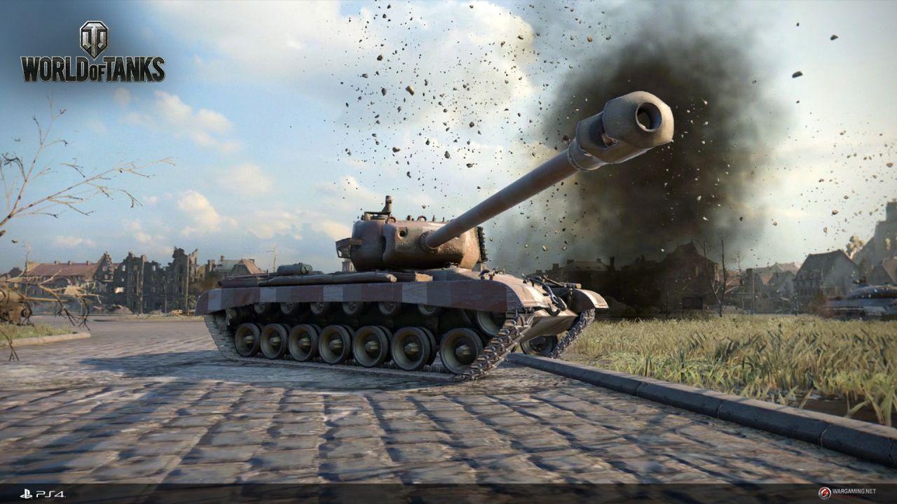 World of Tanks raggiunge un milione di utenti in cinque giorni su Playstation 4