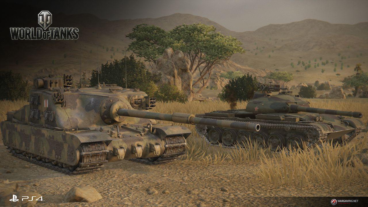 World of Tanks ufficialmente annunciato per PlayStation 4