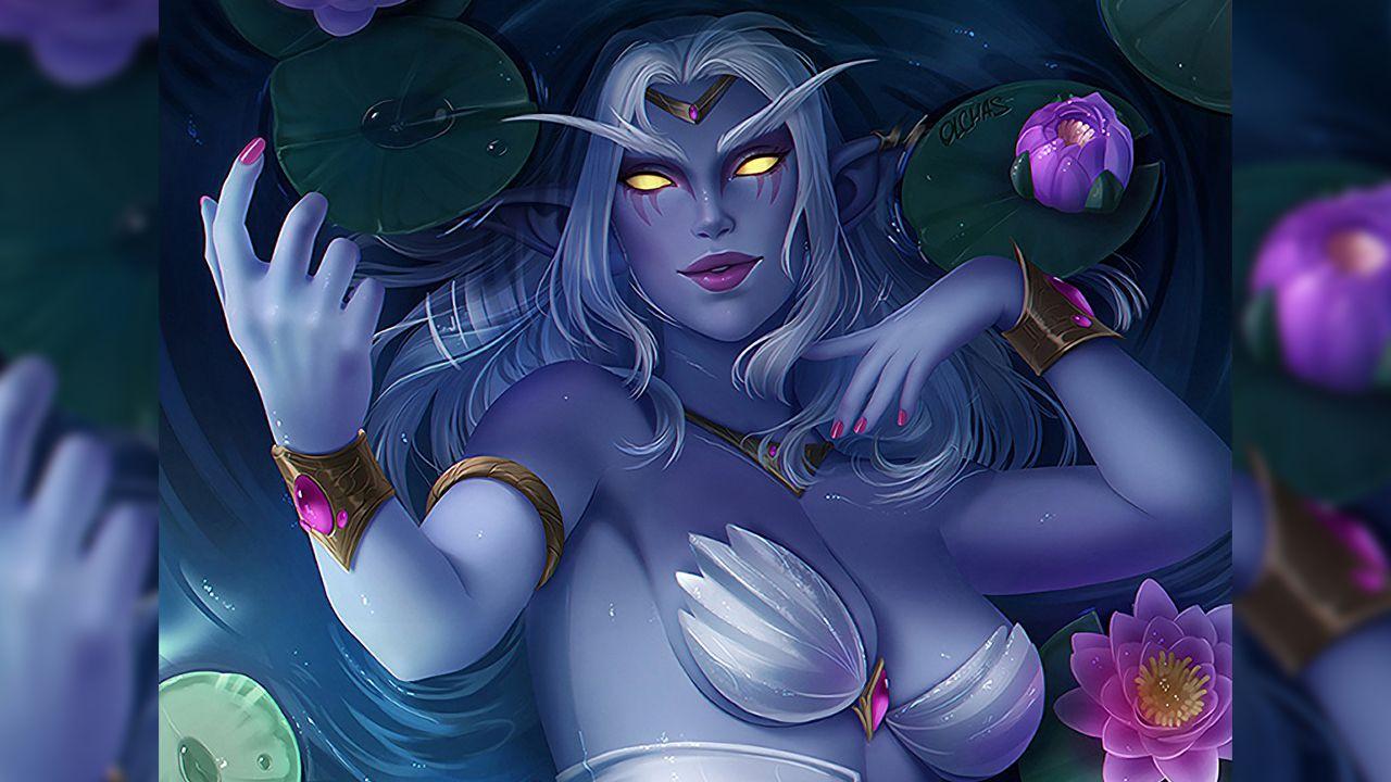 World of Warcraft: la regina Azshara prende vita col cosplay di Daniela Loveiras