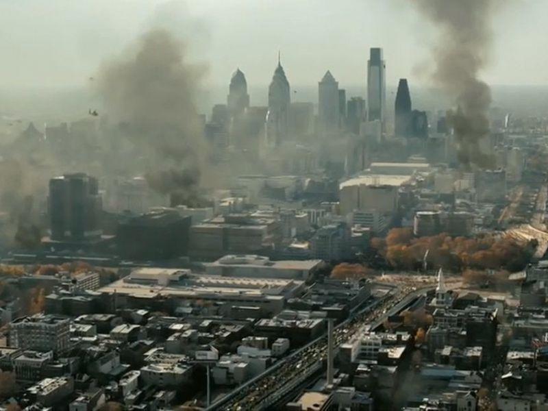 World War Z: in rete il video di Philadelphia in fiamme per le proteste, ma è un fake
