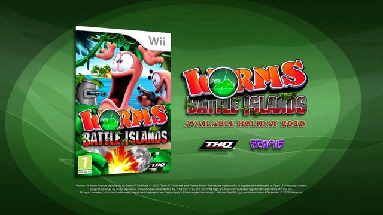 Worms Battle Islands uscirà anche su PSP con una modalità esclusiva