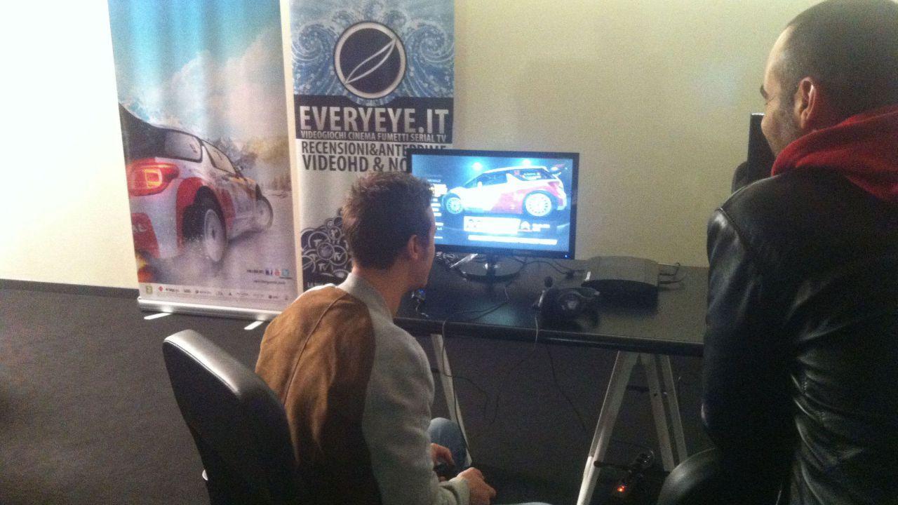 WRC 4: Esclusiva prova con playseat al Lucca Comics & Games