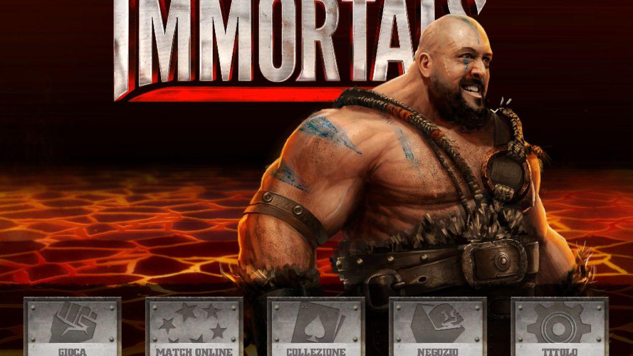WWE Immortals annunciato per iOS e Android