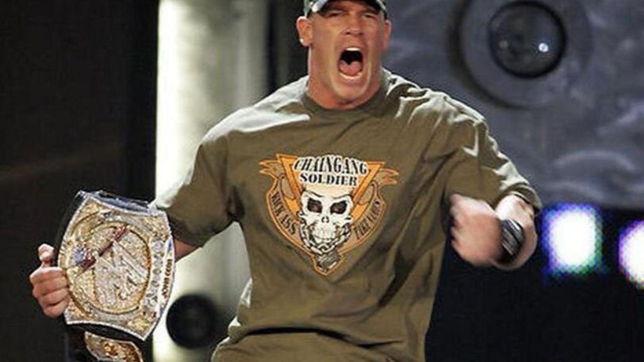 WWE, John Cena e Edge: pareri opposti sulla celebre Spinner Belt