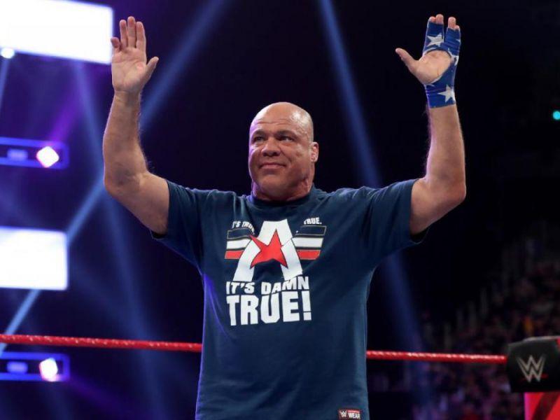 WWE, per il ritorno di Kurt Angle è solo questione di tempo