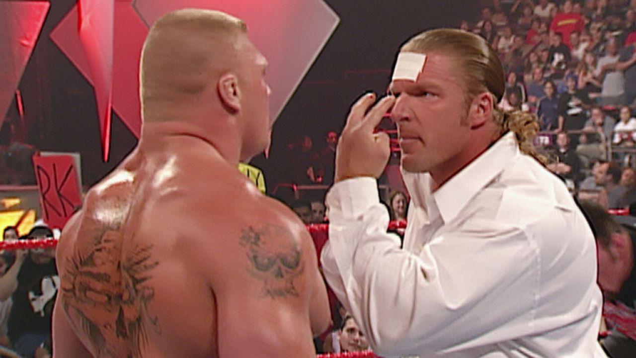 WWE, Triple H su Brock Lesnar a WrestleMania 37: 'Lui può fare ciò che vuole'