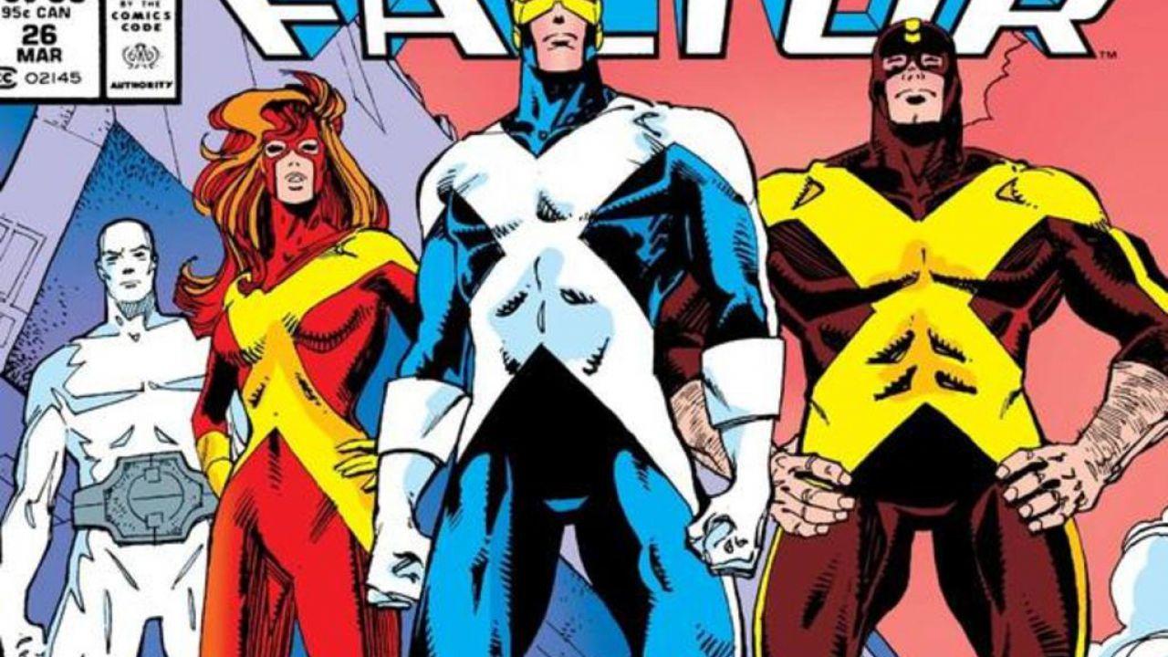 X-Men: Ciclope e Jean Grey tornano indietro nel tempo con gli storici costumi di X Factor