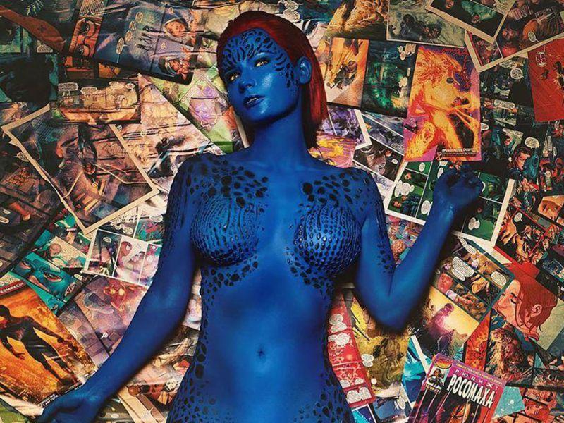 X-Men: il favoloso cosplay di Mystica di Jannet è da mozzare il fiato