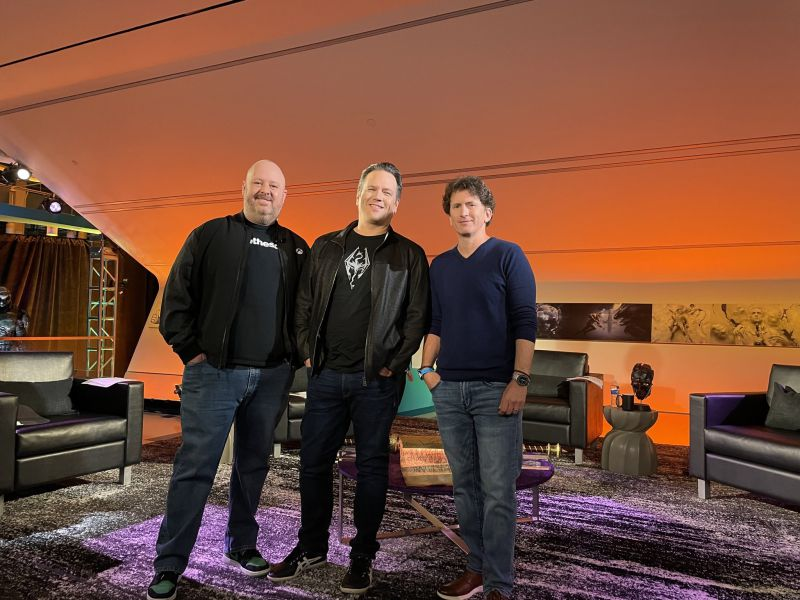 Xbox, Bethesda and the round table with Phil Spencer: all the behind the scenes of the event