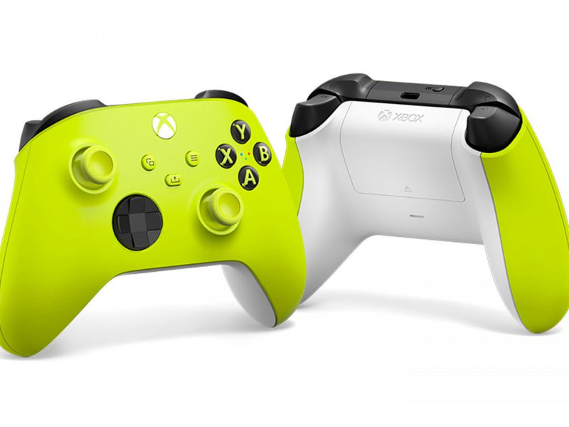 Xbox Controller: Microsoft presents the new Electric Volt and Daystrike Camo colors