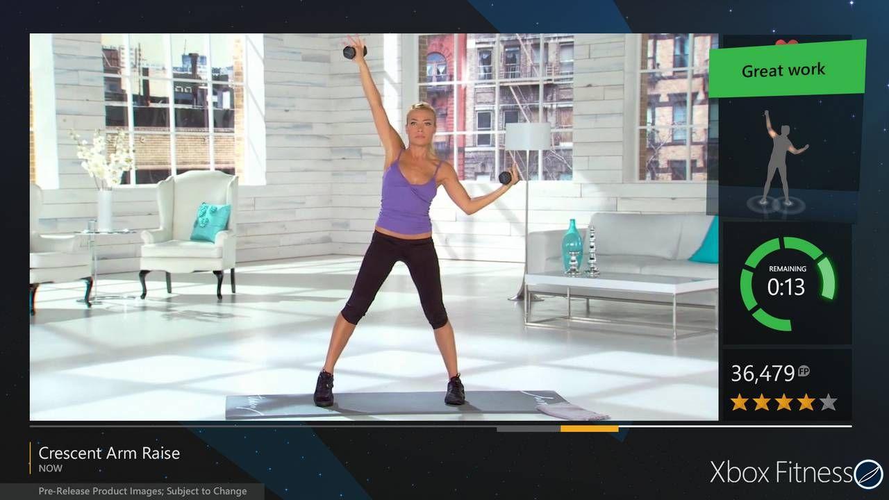 Xbox Fitness: pubblicate le prime immagini