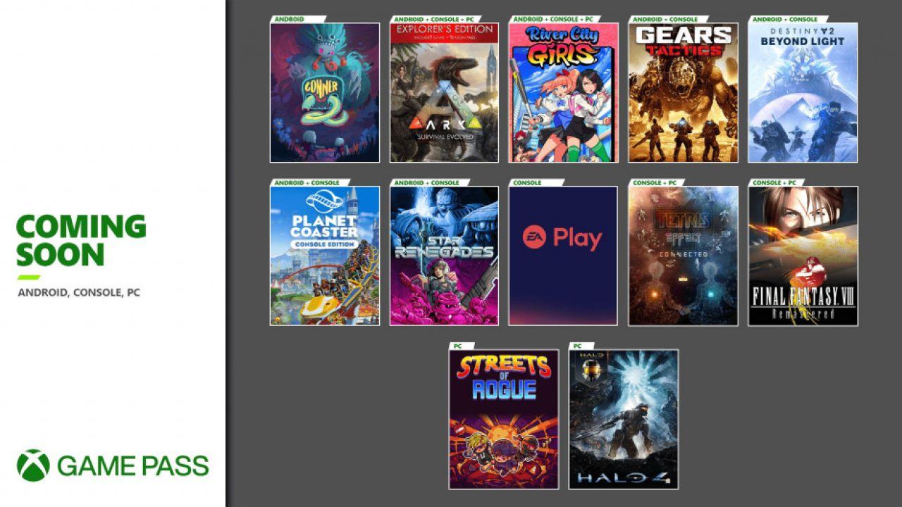 Xbox Game Pass, annunciati 11 nuovi giochi: in arrivo anche il catalogo EA Play