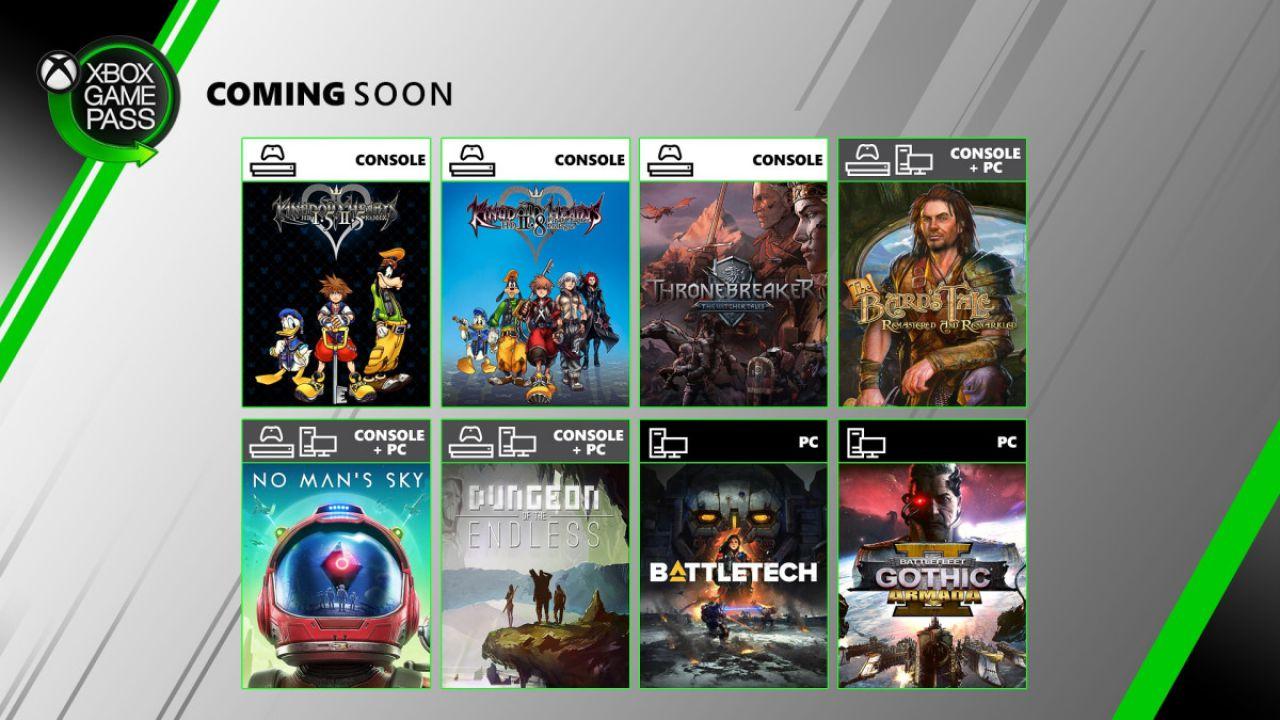 Xbox Game Pass: nuovi giochi annunciati, a giugno arrivano No Man's Sky e Kingdom Hearts