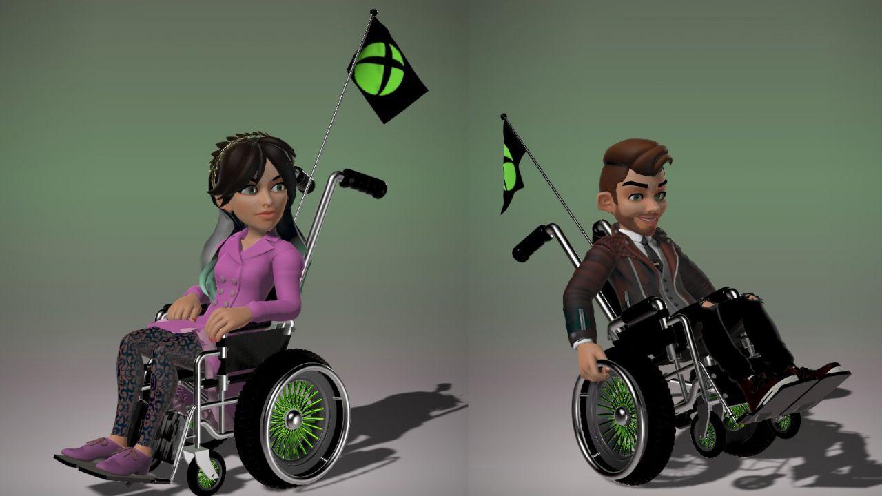 Xbox Live: In arrivo le sedie a rotelle per gli avatar